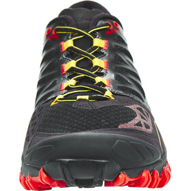 La Sportiva M's Bushido Shoes Black/Yellow